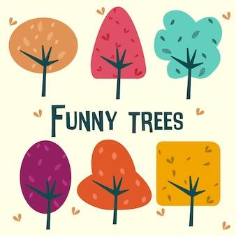 Árvores engraçadas