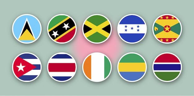 As 10 principais bandeiras do mundo