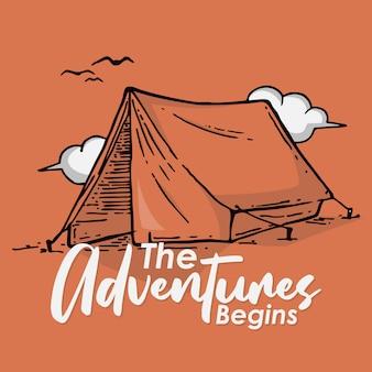 As aventuras começam
