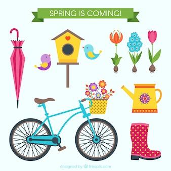As coisas bonitos na primavera