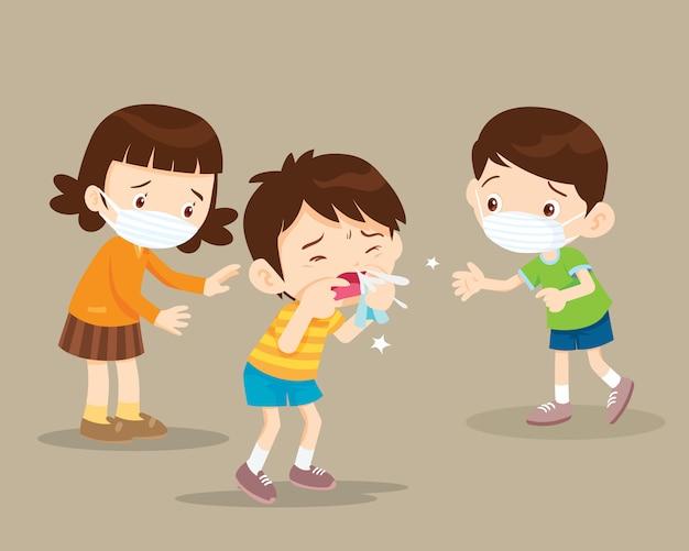 As crianças ficam doentes