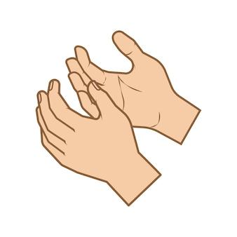 As mãos oram