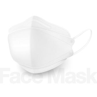 As novas máscaras médicas 3d fornecem proteção superior