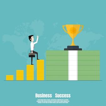 As pessoas andam em cima do sucesso do negócio financeiro