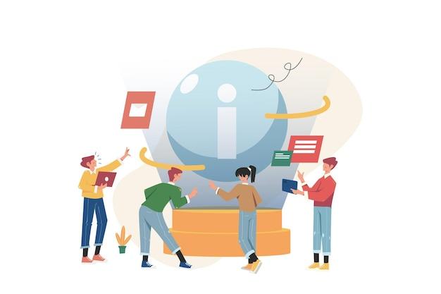 As pessoas coletam novas informações para construir um negócio