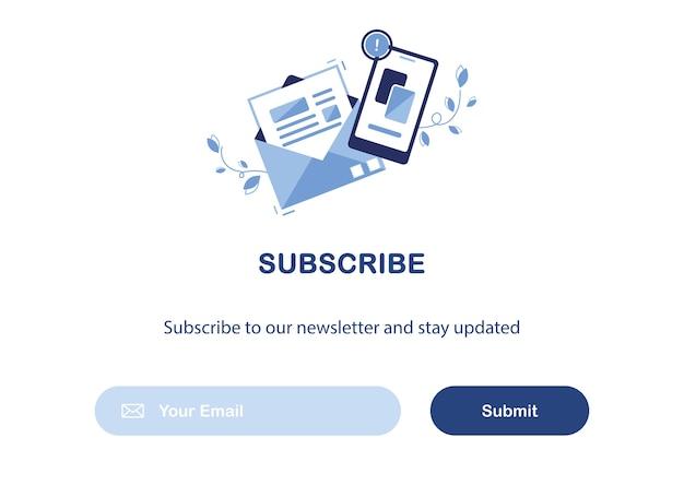 Assinatura de email marketing