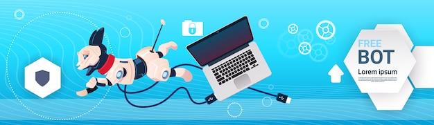 Assistência virtual do robô livre do bot do bate-papo do web site ou das aplicações móveis, inteligência artificial co