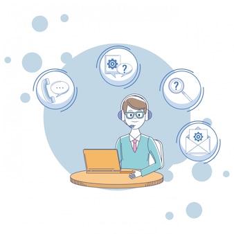 Assistente de serviços ao cliente