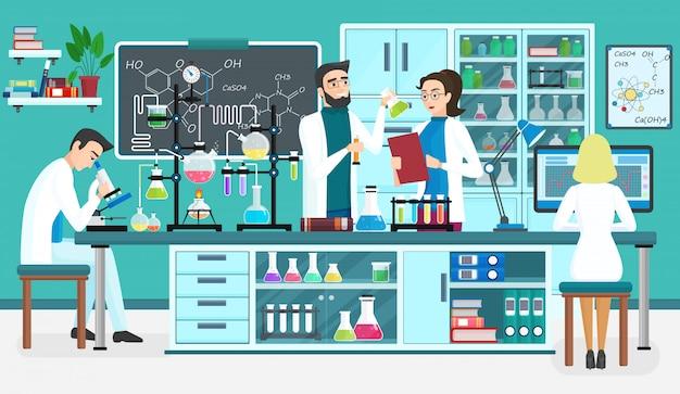 Assistentes de laboratório