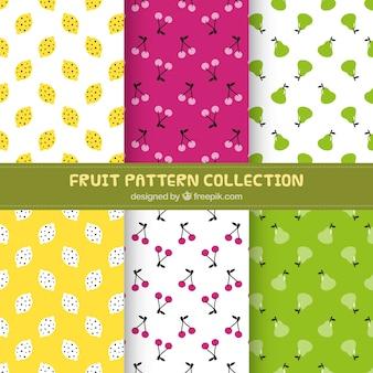 Assorted padrões de frutas