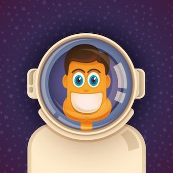 Astronauta em quadrinhos