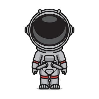 Astronauta fofa