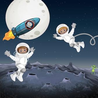 Astronauta no espaço