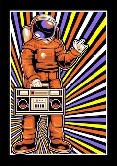 Astronautas amam música