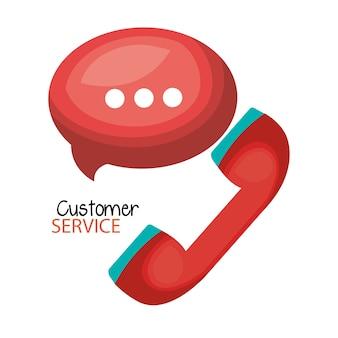 Atendimento ao cliente do call center
