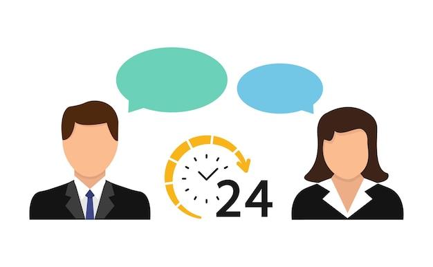 Atendimento ao cliente e operadora de call center
