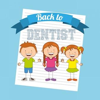 Atendimento odontológico de crianças