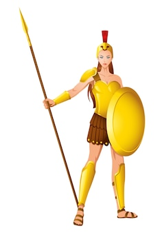 Athena a deusa da sabedoria