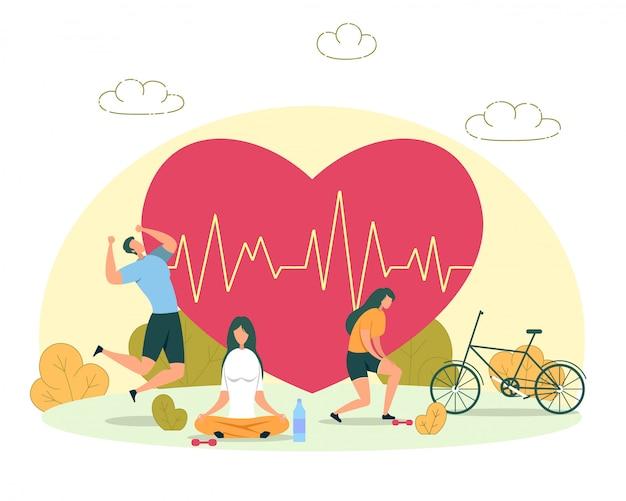 Atividade ao ar livre para a saúde do coração
