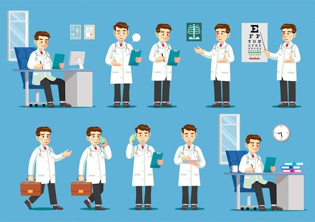 Atividades de médico