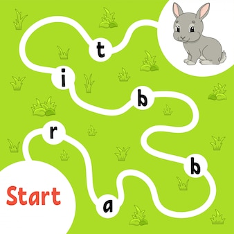Atividades infantis de jogos de quebra-cabeça lógico