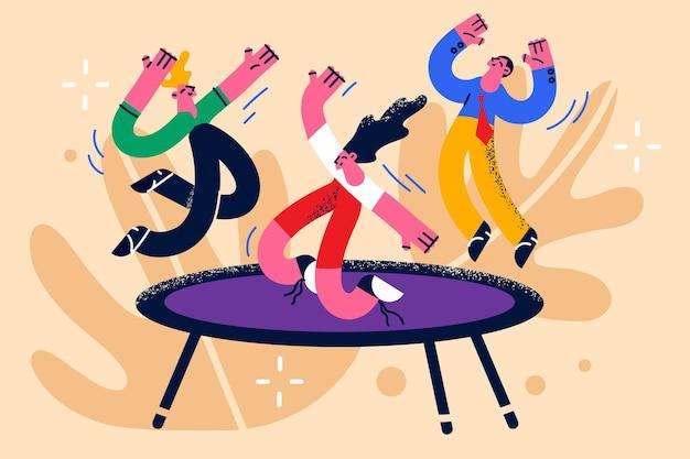 Atividades infantis e conceito de diversão