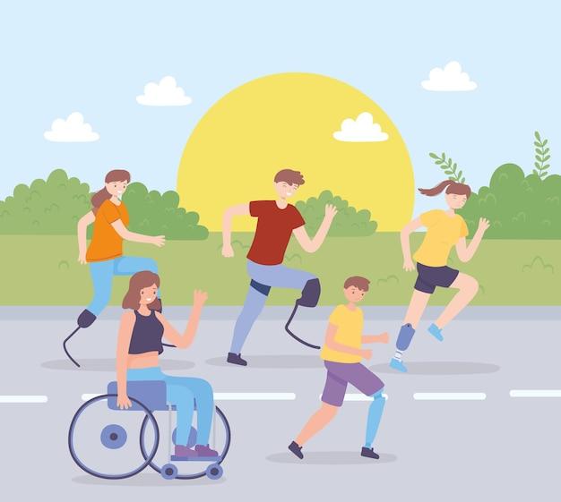 Atividades para deficientes físicos