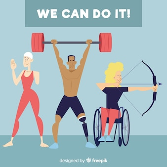 Atleta com deficiência