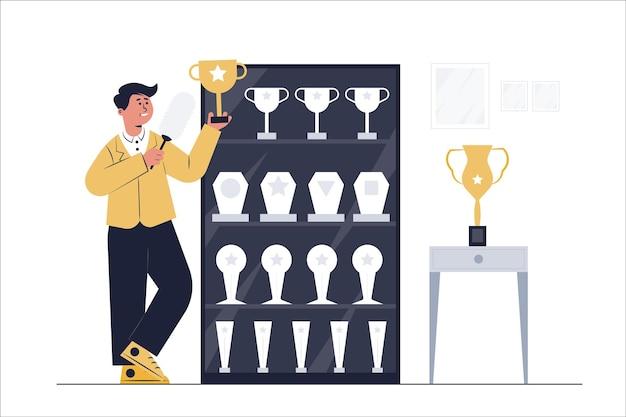 Atletas campeões mundiais ganharam troféus em muitas competições