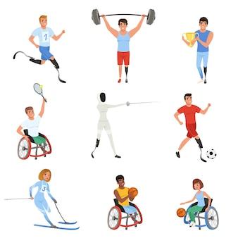 Atletas com deficiência