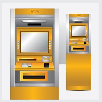Atm. caixa automático de ilustração