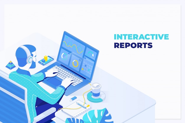 Auditoria elaborando relatório de planejamento financeiro de banco de dados