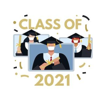 Aula plana de ilustração de 2021