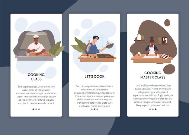 Aulas e aulas ensinando a cozinhar e preparar