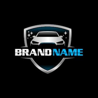 Auto clean logo tempalte