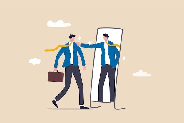 Auto-estima ou autocuidado, acredite em si mesmo melhorando o conceito de confiança.