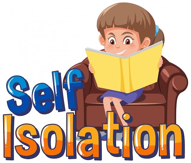 Auto-isolamento para evitar a propagação do vírus corona