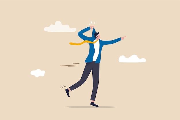 Auto motivação para se inspirar a ter sucesso no trabalho