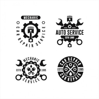 Auto service car repair design collections