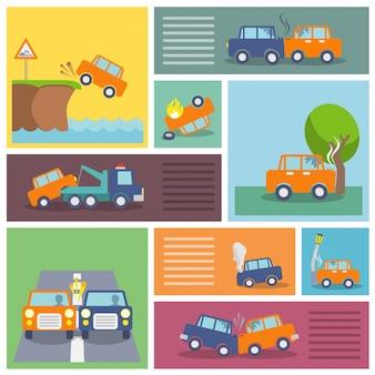 Avarias do carro