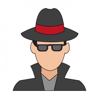 Avatar de ladrão hacker