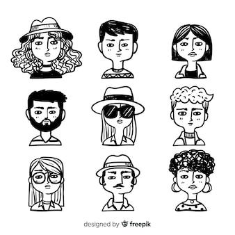 Avatar de pessoas collectio