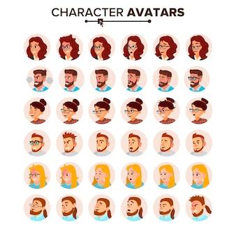 Avatar de pessoas de negócios