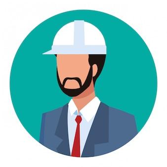 Avatar de trabalhador arquiteto