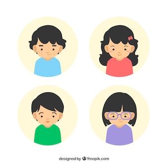 Avatares crianças
