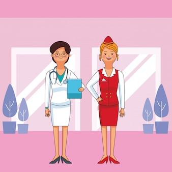 Avatares da profissão e da ocupação das mulheres