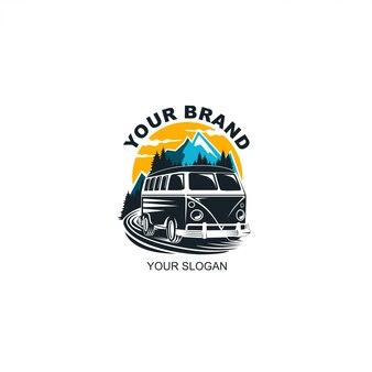 Aventura do logotipo do carro
