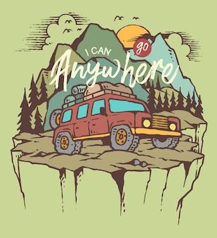 Aventura offroad car