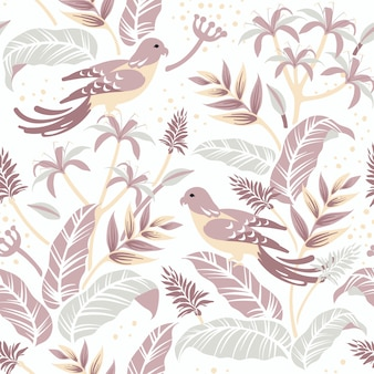 Aves no design da natureza