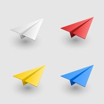Aviões definem aeronaves coloridas
